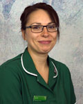 Kelly Hooper, nurse at Acorn Veterinary Centre