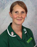 Shelley Walker, nurse at Acorn Veterinary Centre